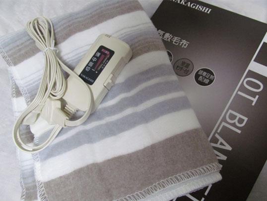 なかぎし 電気敷毛布